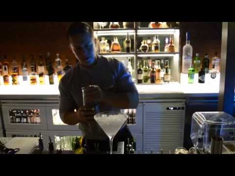 "Flair Bartending in ""Catch"" (Seafood Restaurant and Lounge in Abu Dhabi)"