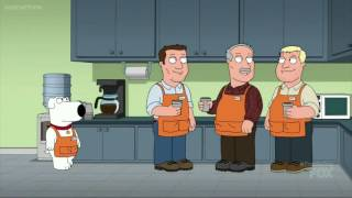 Family Guy - Brian Gets a New Job