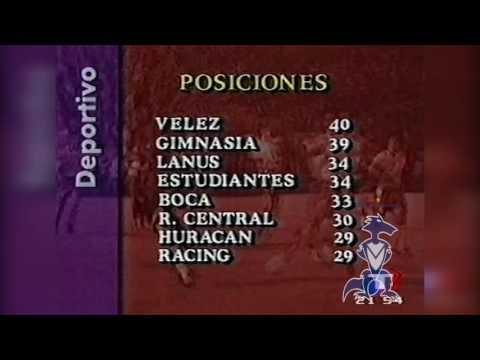 TN Deportivo | Estadísticas Finales | Campeon Clausura 1996