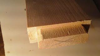 изготовление шипа на фрезе  хитрость Production of the spike on the cutter