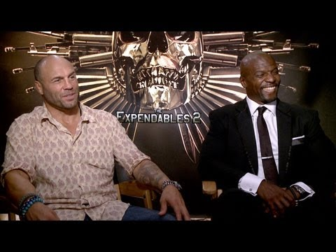 'The Expendables 2'  Randy Couture and Terry Crews Interview