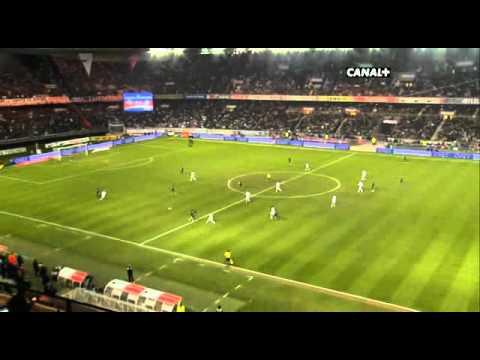 PSG 1-3 Marseille - But de Giuly (L1 08-09)