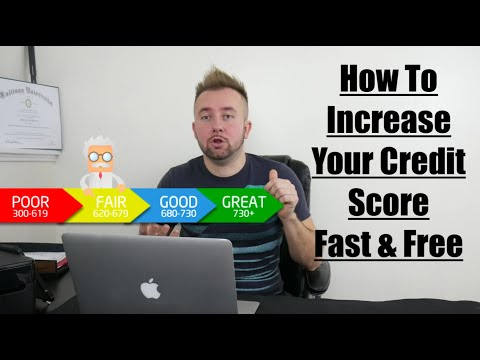 How To Increase Your Credit Score Fast & Free – Tips That Really Work