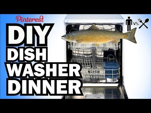DIY DISHWASHER DINNER - Man Vs Din #2