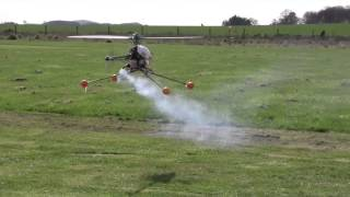 learning to Fly Nitro Rc Helicopter First week