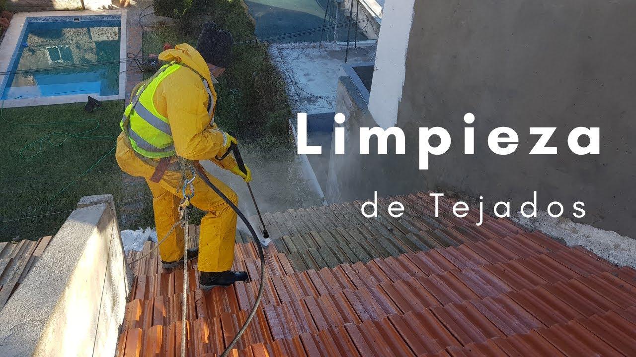 ✅ Limpieza de Tejados By Pintores Rosario.
