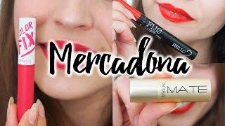 HAUL MERCADONA Probando labiales DELIPLUS + SORPRESA DÍA DE LA MADRE | Pretty and Olé