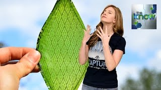 Synthetic, man-made leaves could be the solution to creating oxygen in environments where plants won't grow. LIKE SPACE! News By: Ashley Jenkins Hosted ...