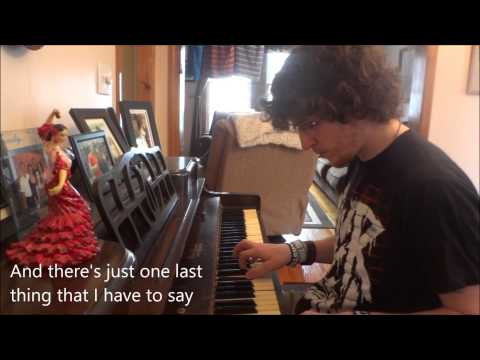 """Relient K """"The Thief"""" Piano Cover"""