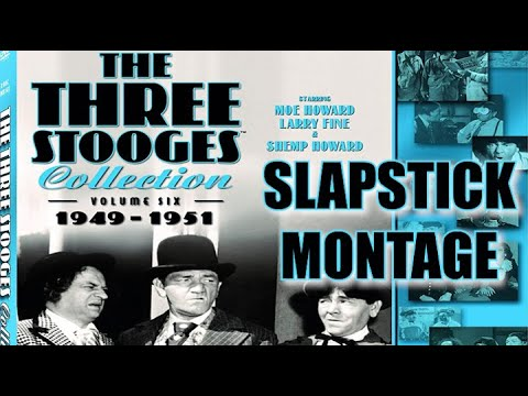 The Three Stooges (Volume 6) Slapstick Montage
