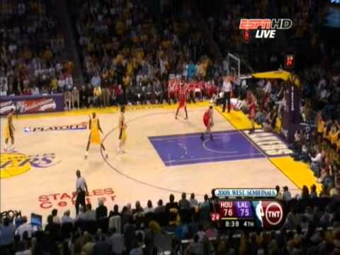 Yao Ming vs Kobe Bryant - NBA Playoffs 2009 - WC Semifinals - Game 1