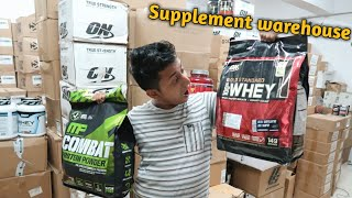 100% original Supplement importer ON whey, ultimate nutrition, Muscle tech,  weider | VANSHMJ