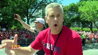 Capitals Championship Parade Highlights