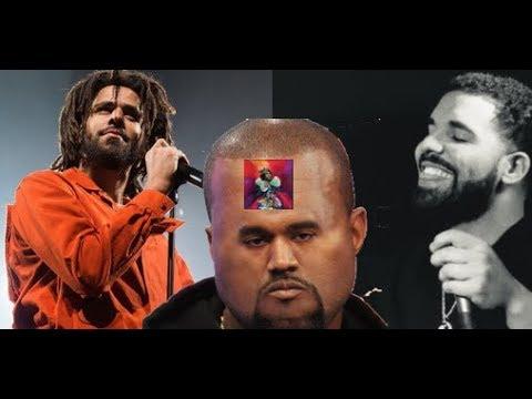 J Cole Eyebrows Vs Drakes J. Cole Drops K...