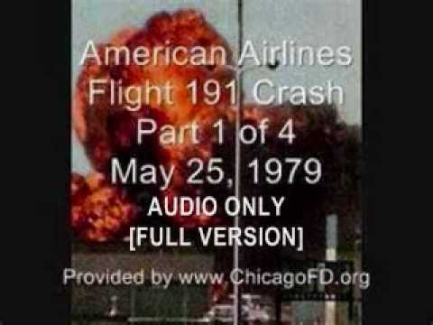 Chicago Fire Dept. American Airlines Crash 5-25-1979 Audio (FULL VERSION)