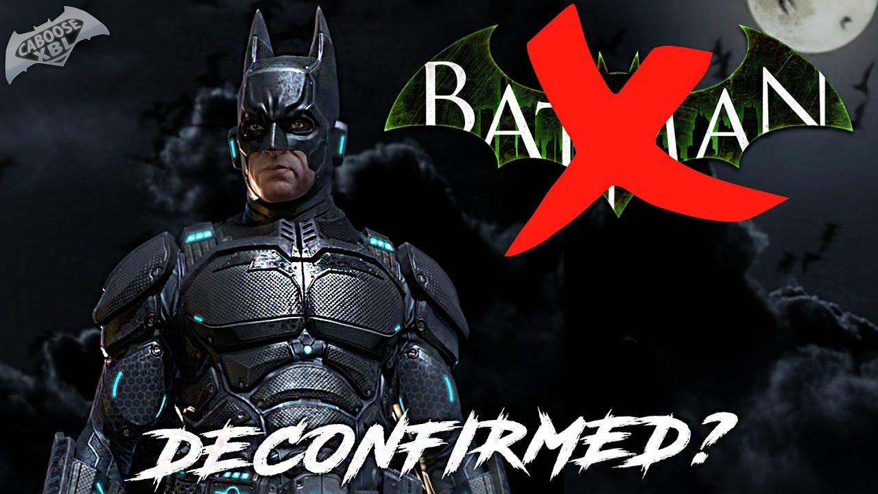 New Batman Arkham Game DECONFIRMED?! - YouTube