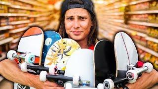 СКЕЙТБОРД ИЗ СУПЕРМАРКЕТА 3А 3000 РУБЛЕЙ / ПОДАРИЛ СКЕЙТ - Видео от Anton Z Skateboarding