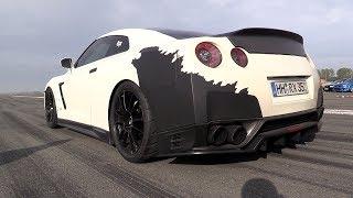 The BEST Nissan GTR R35 Acceleration SOUNDS!
