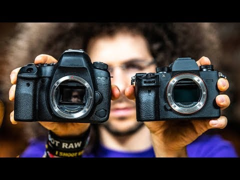 Mirrorless VS DSLR Cameras | What's the Difference? (2019 Edition)