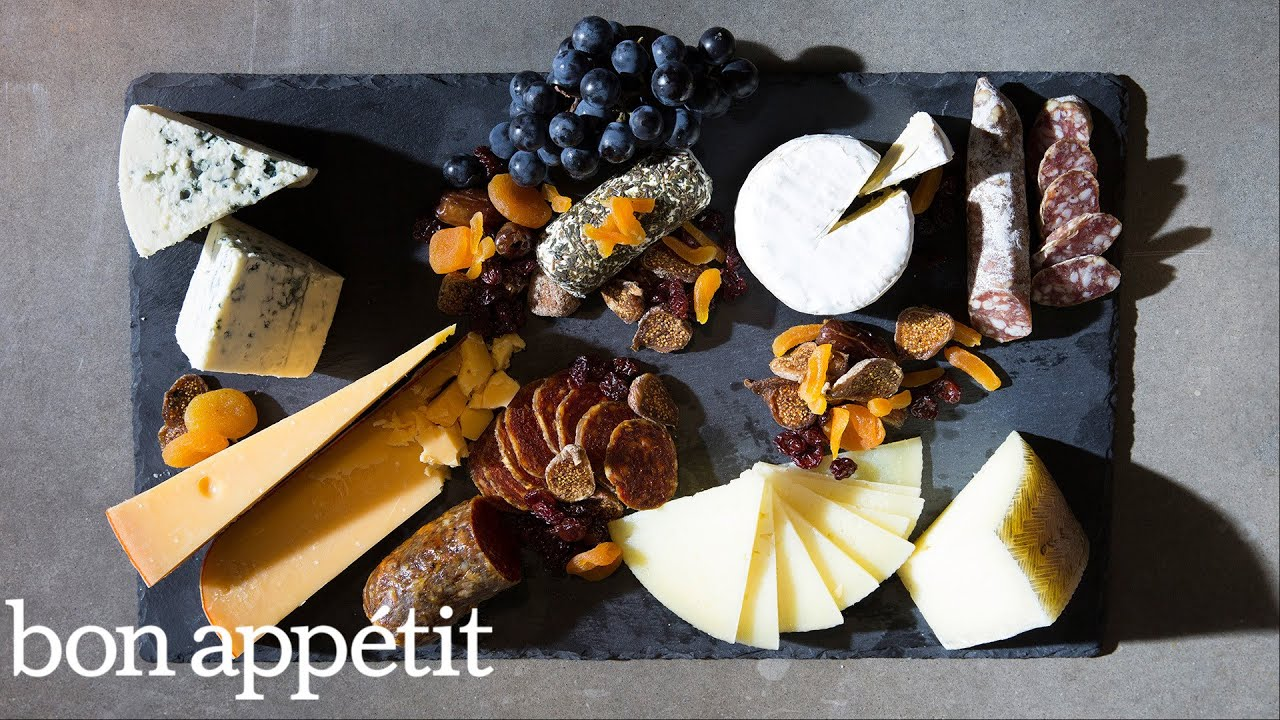 How To Make The Ultimate Cheese Board Youtube