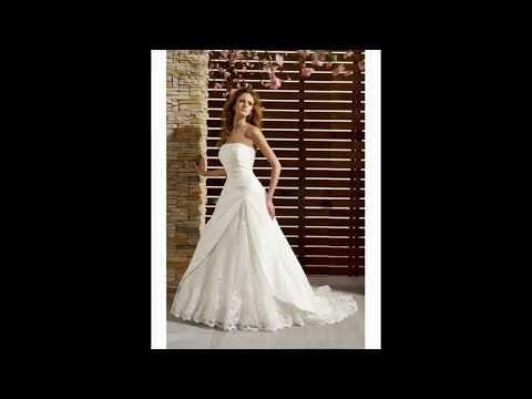 Robe de soir e robe de mariage youtube for Don de robe de mariage militaire