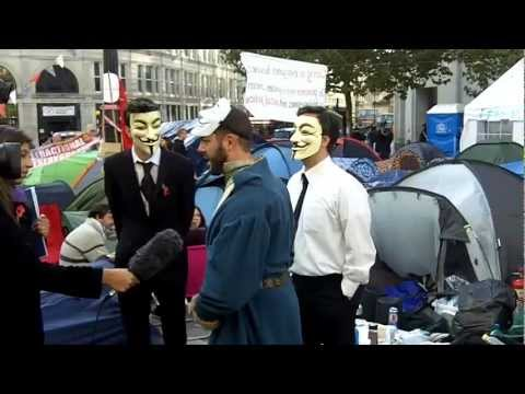 Occupy London St.Paul's protest movement