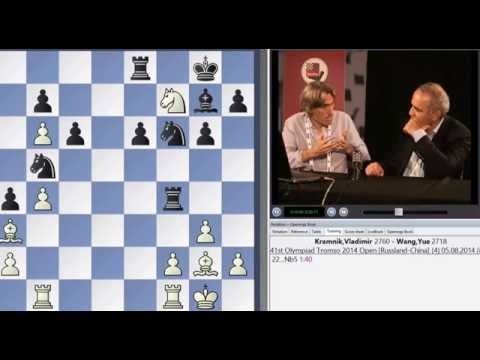 Kasparov interviewed by King  Chess News