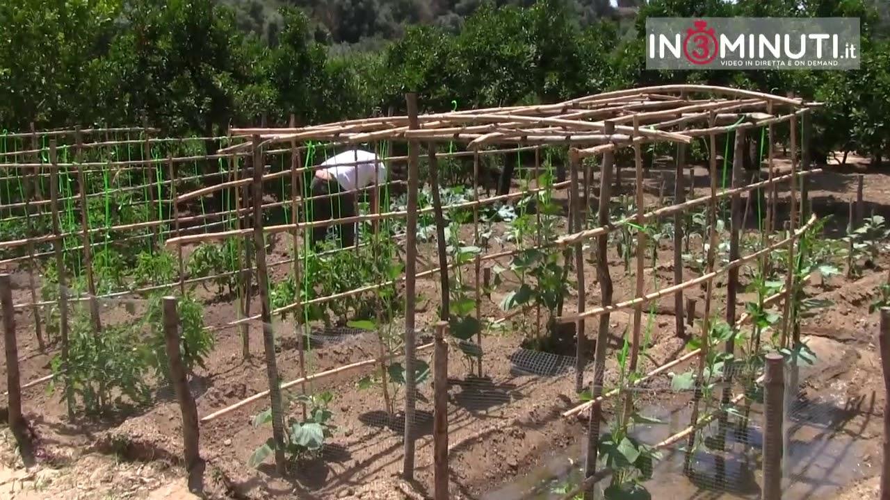 sistema irrigazione orto