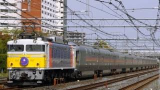 2009年4月19日EF81-92(カシオペア色)牽引東北線8010レ寝台特急カシオペ...