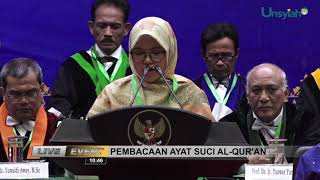 SIDANG TERBUKA MILAD UNSYIAH KE-58 DAN ORASI ILMIAH OLEH WAKIL PRESIDEN REPUBLIK INDONESIA