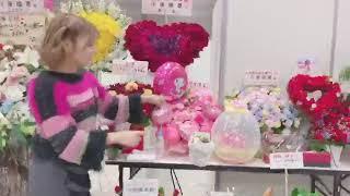 説明#卒業セレモニー 乃木坂46としてラスト #川後陽菜 の #握手会 お花...