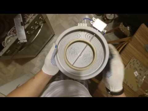 Как поменять конфорку на стеклокерамической плите
