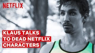 Klaus Talks to Dead Netflix Characters | The Umbrella Academy | Netflix