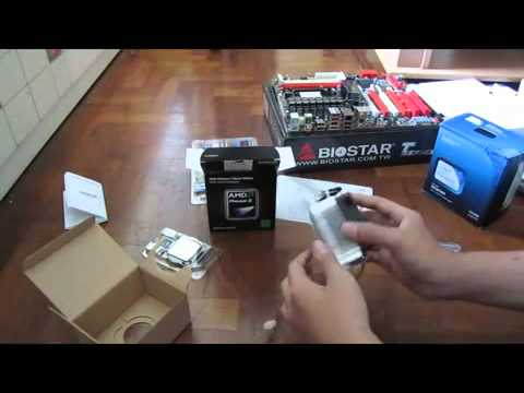 Amd Phenom Ii X2 555 3 2ghz Dual Core Processor Unboxing And Quick Look Youtube
