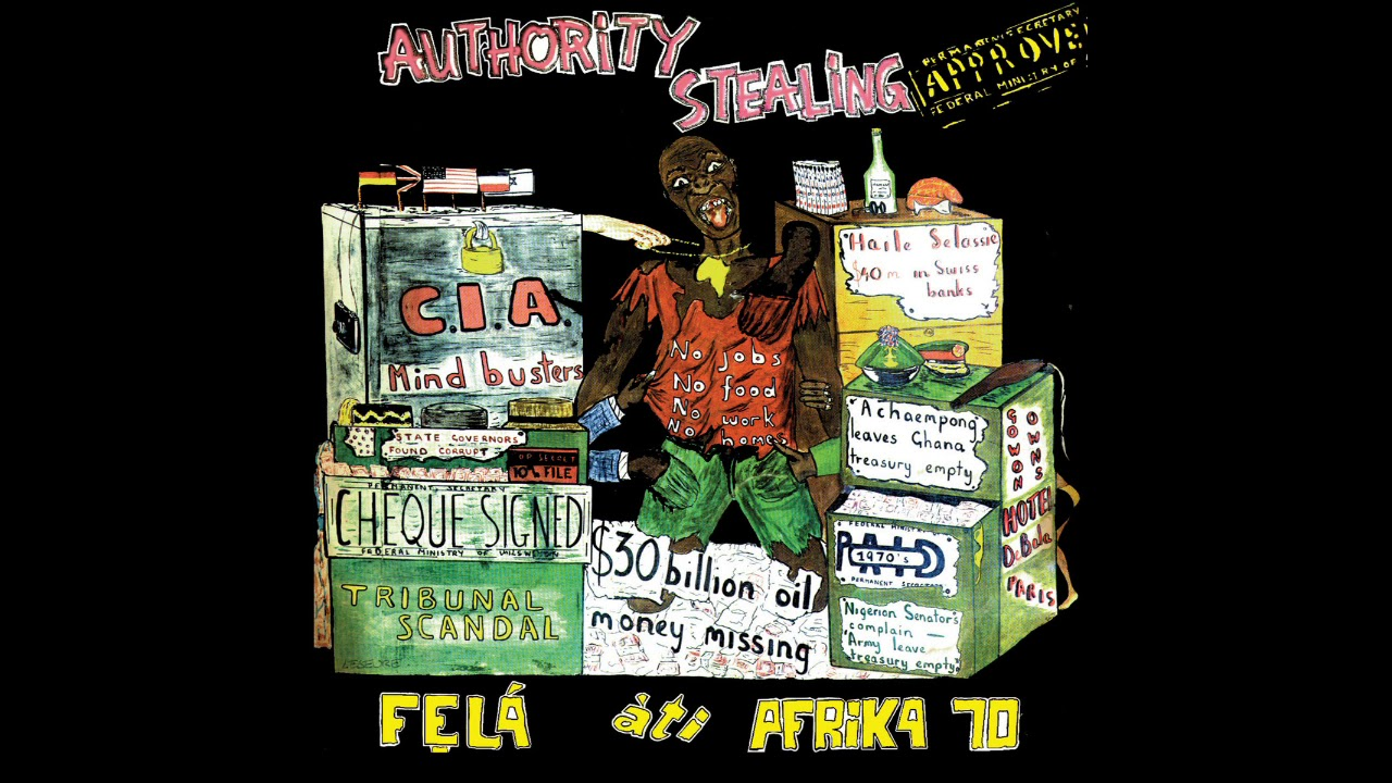 Download Fela Kuti's Authority Stealing (1980) Intro Loop