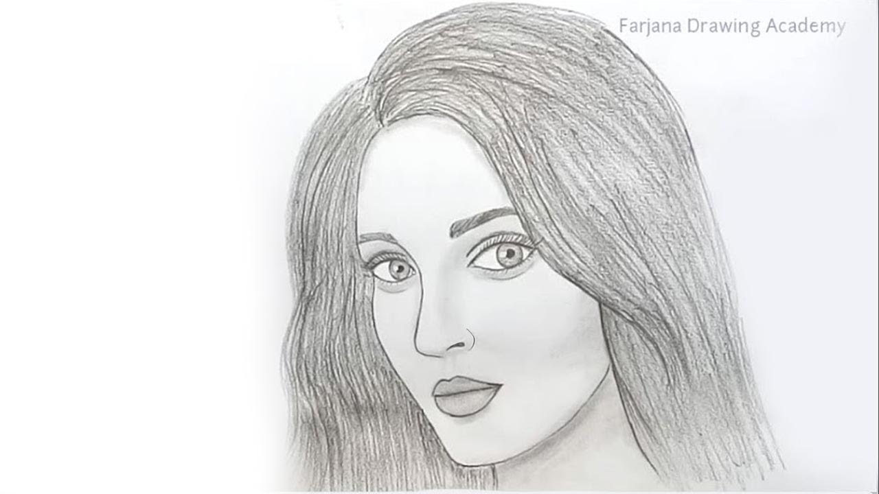 How To Draw Face For Beginners Easy Way To Draw A Realistic Face