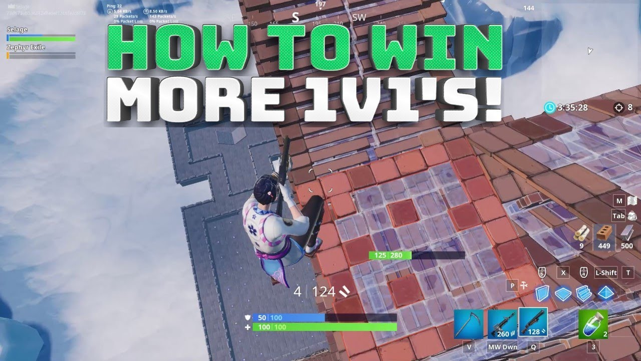 How to Win More 1v1s! 1v1 Creative Map Code! - (Fortnite ...