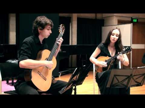 scheidler sonata in d - mandolin and guitar - marissa carroll & joel woods