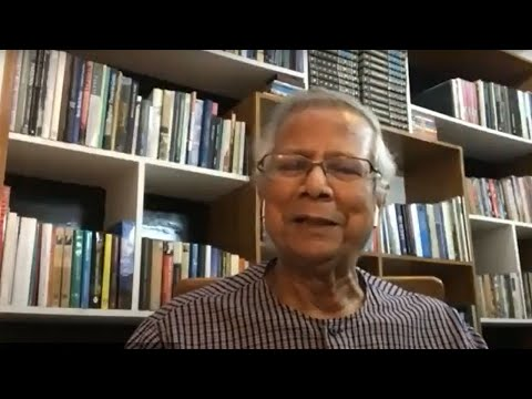 Interaction with Prof. Muhammad Yunus on Social Business - Reset Economy and Society