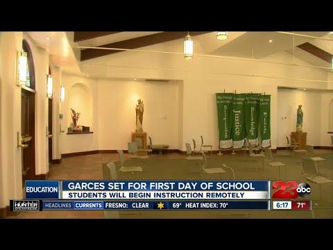 Garces Memorial High School returns to school
