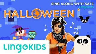 ????  Halloween Song for Kids ???? | Sing Along with Kate | Lingokids