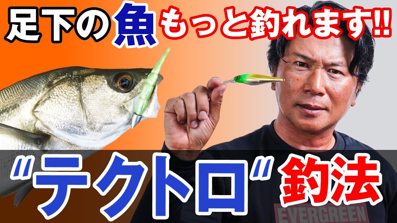 【テクトロ釣法】シーバス釣りの初心者にもオススメの釣り方!オヌマンのシーバス塾