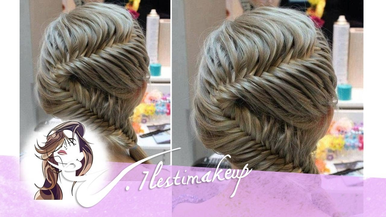 Trenza de 2 cabos en s braid youtube - Como realizar peinados ...