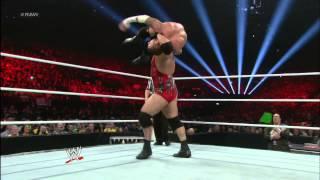 John Cena & Ryback vs. CM Punk & Dolph Ziggler: Raw, Nov. 5, 2012