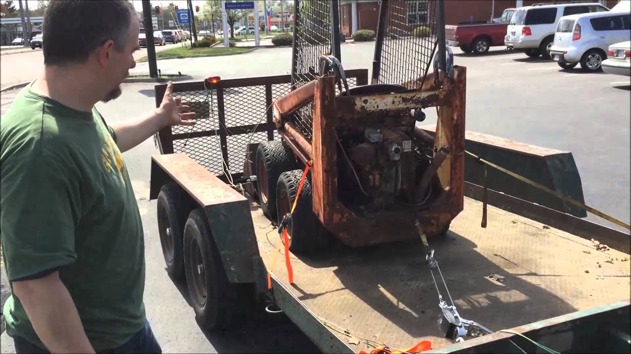 1971 Bobcat M371 Rescue and Restoration By: Glenn Colassi