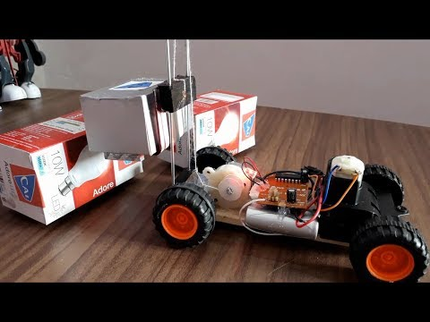 How to make a Forklift RC Toy easy