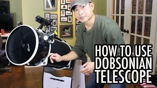 How to a Use Dobsonian Reflector Telescope