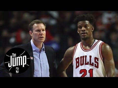 Jimmy Butler admits to being at odds with Bulls coach Fred Hoiberg | The Jump | ESPN
