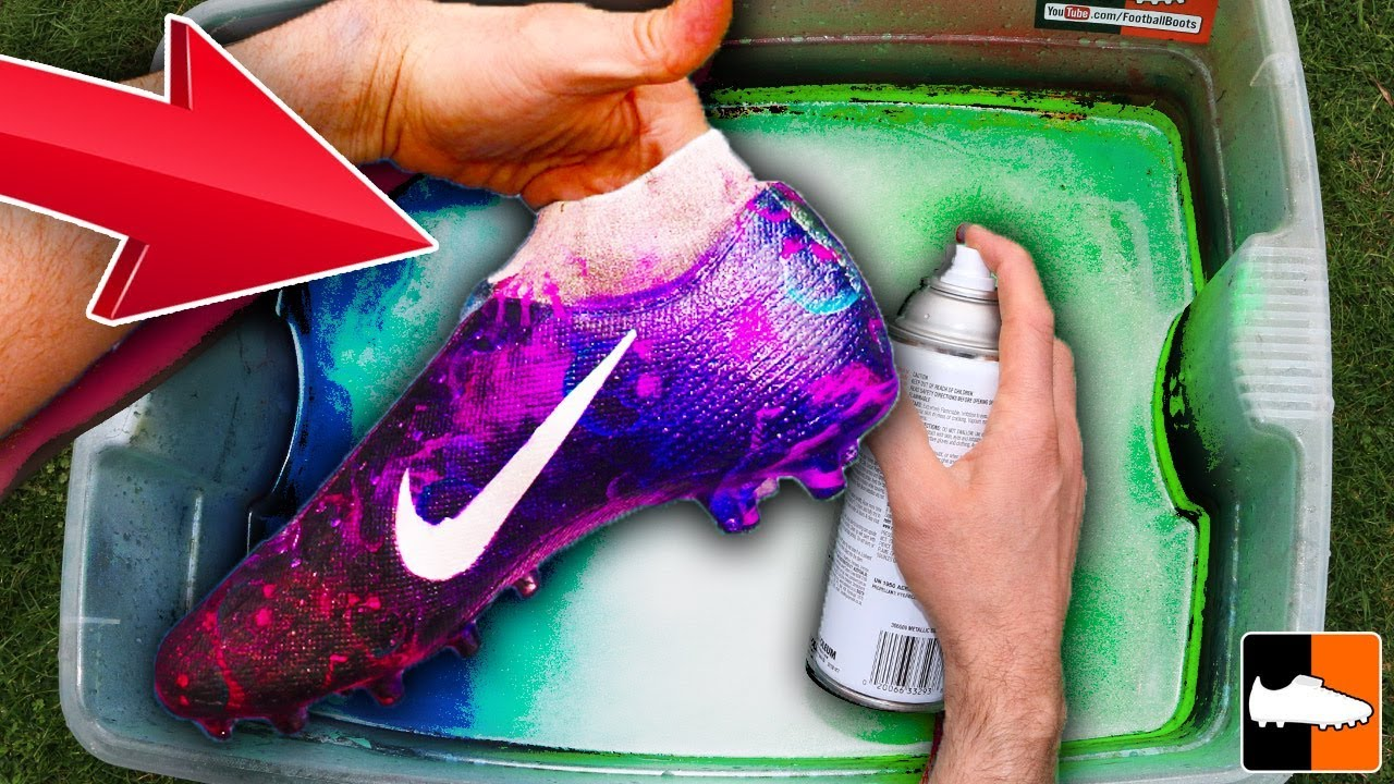 How To Hydro Dip For Football!