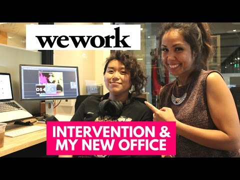 MY NEW PRIVATE WEWORK OFFICE - MEET MY OFFICEMATE  | HHH #22